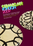 2009 Leaflet, Front, Ceramic Art London