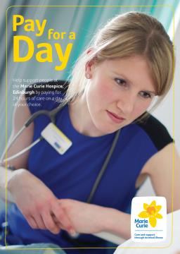 Edinburgh hospice cover, Pay for a Day