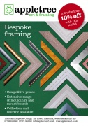 Framing Leaflet, Appletree Art and Framing