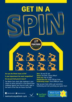 Get in a Spin, Pedal for a Medal