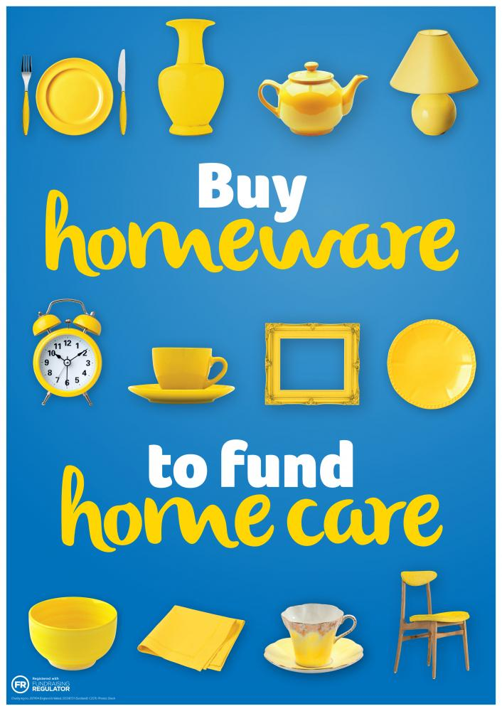 Homewares poster, Shops homewares campaign