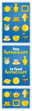 Homewares three-parter, Shops homewares campaign
