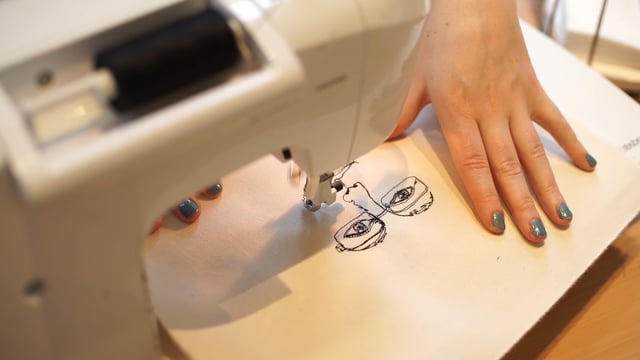 Introduction, Sewing portraits at the Marie Curie Hospice, Hampstead