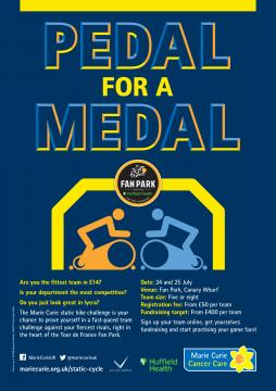 Poster, Pedal for a Medal