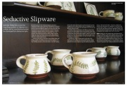 Seductive Slipware, Ceramic Review