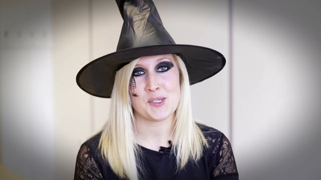 Halloween fundraising event, Superdrug engagement video