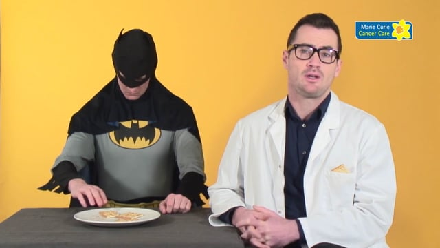 """Superheroes"", The Marie Curie Cream Cracker Challenge"